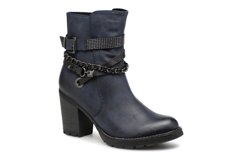 Boots en enkellaarsjes Marco Tozzi Blauw