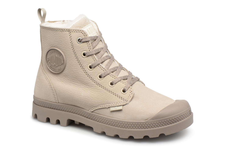Boots en enkellaarsjes Palladium Beige