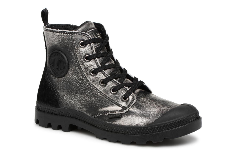 Boots en enkellaarsjes Palladium Zilver