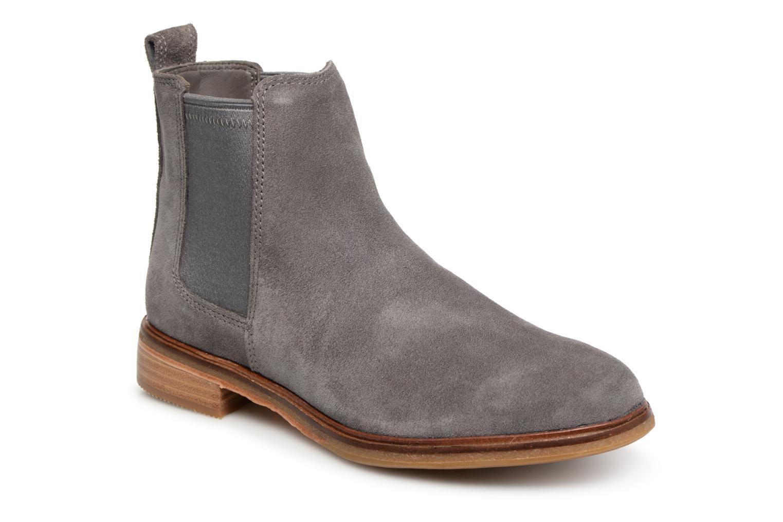 Boots en enkellaarsjes Clarks Grijs