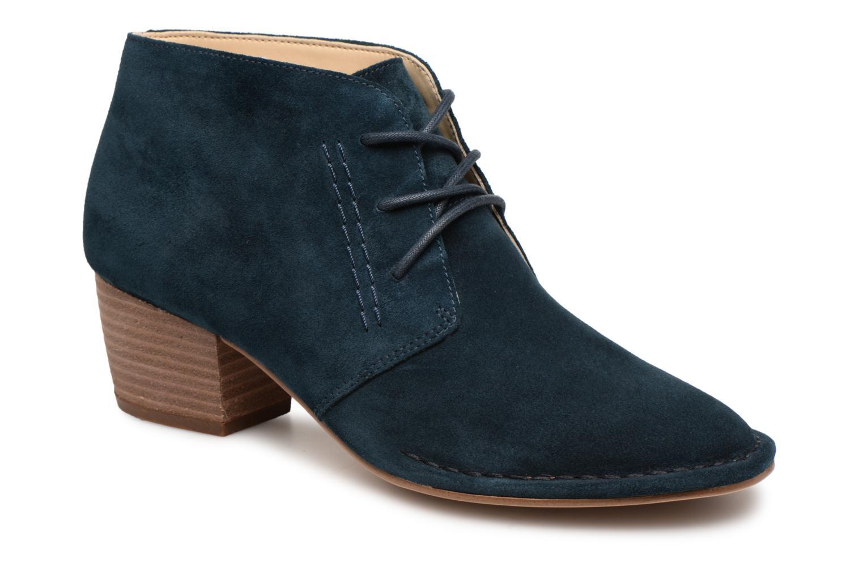Boots en enkellaarsjes Clarks Blauw