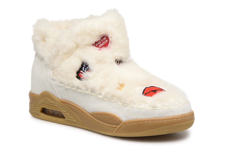 Boots en enkellaarsjes Serafini Wit