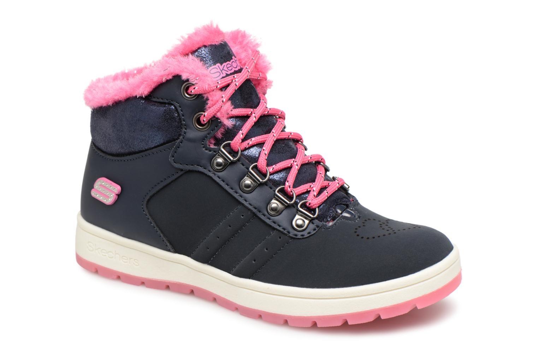 Boots en enkellaarsjes Skechers Blauw