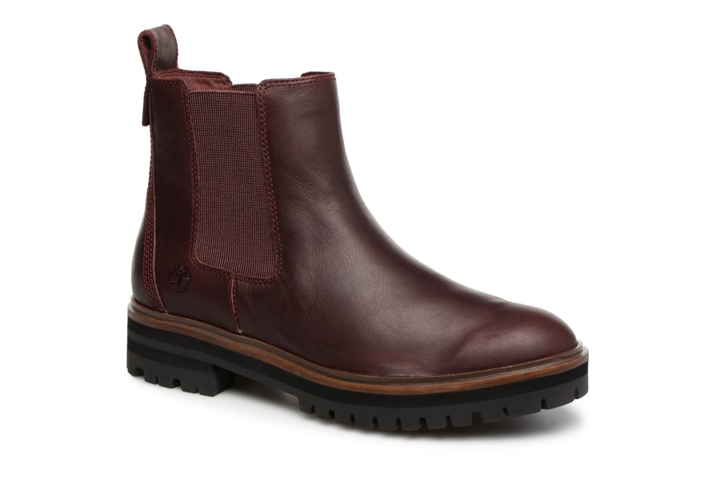 Boots en enkellaarsjes Timberland Bordeaux