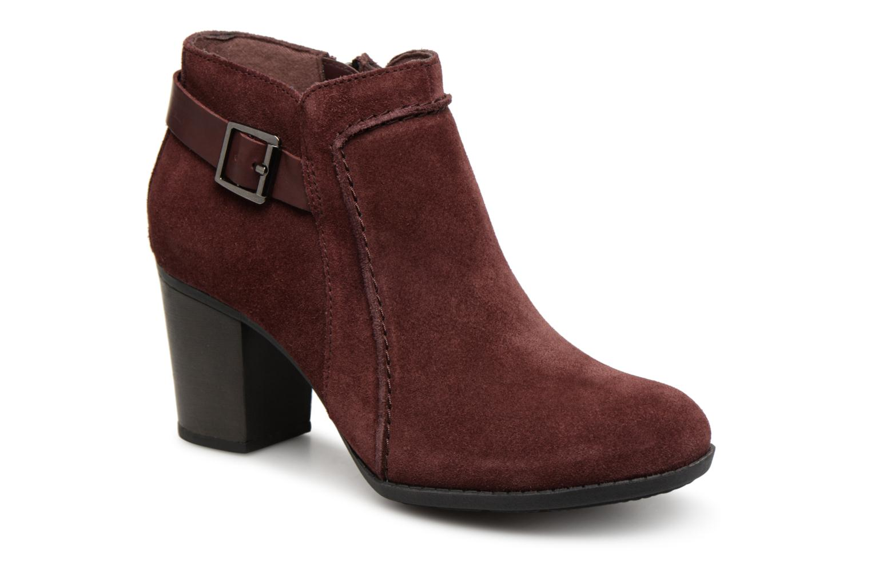 Boots en enkellaarsjes Clarks Bordeaux