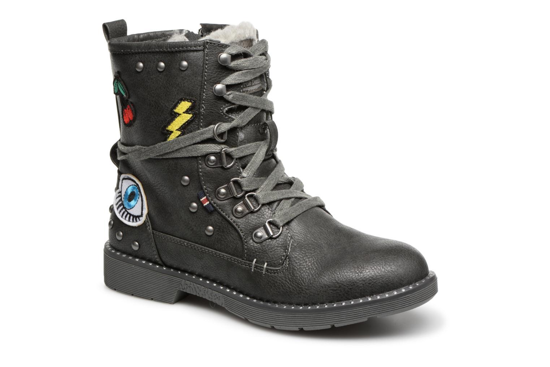 Boots en enkellaarsjes Mustang shoes Zwart