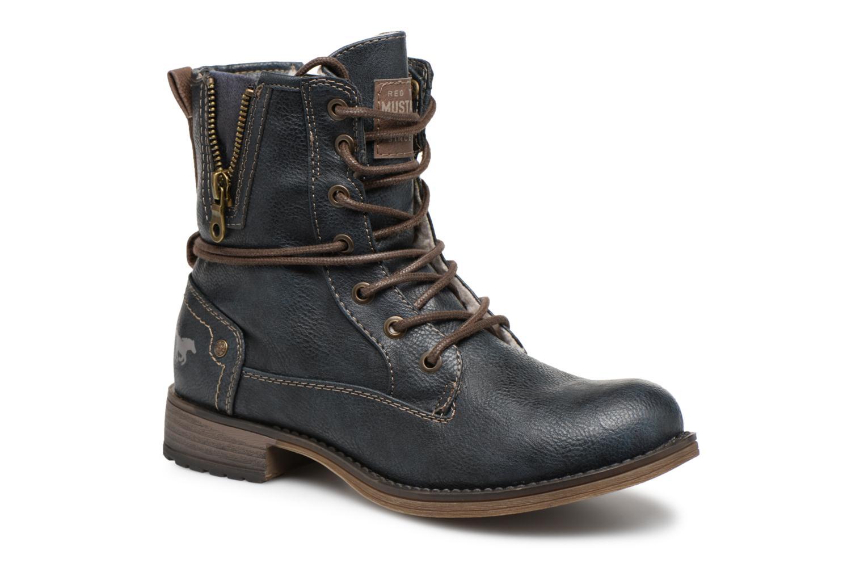 Boots en enkellaarsjes Mustang shoes Blauw