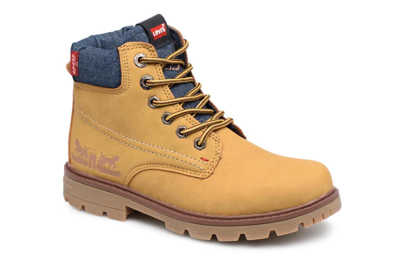 Boots en enkellaarsjes Levi's Geel