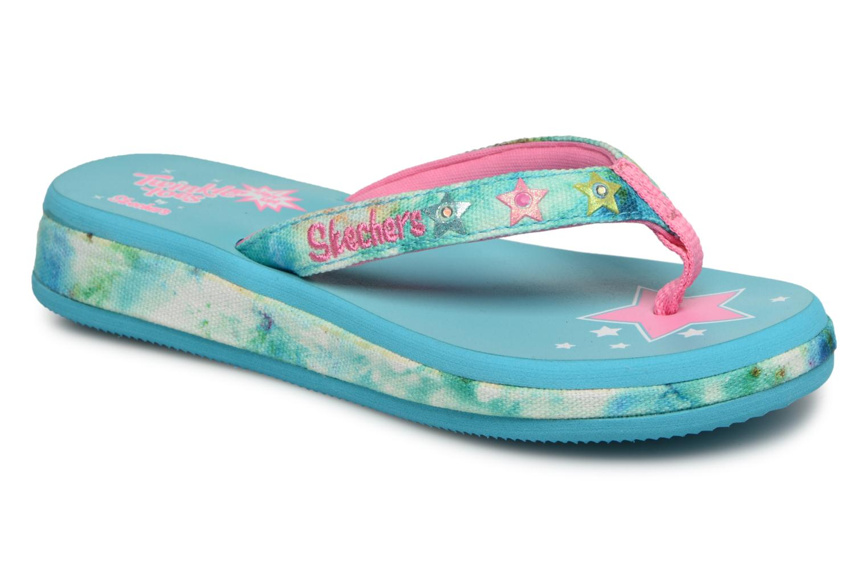 Slippers Skechers Blauw