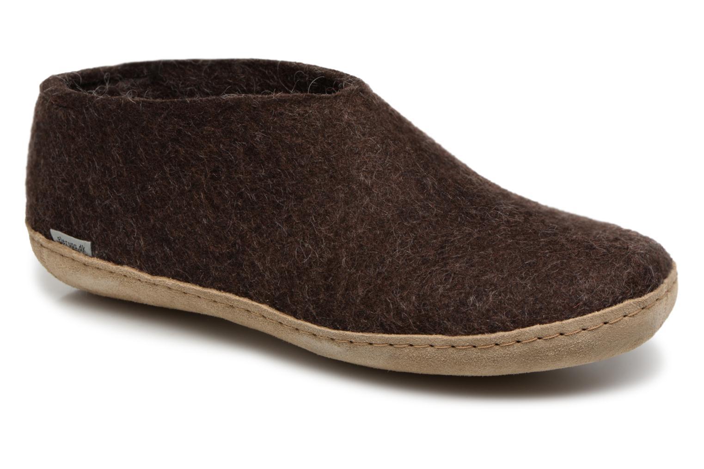 Pantoffels Glerups Bruin