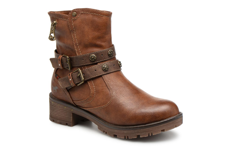 Boots en enkellaarsjes Mustang shoes Bruin