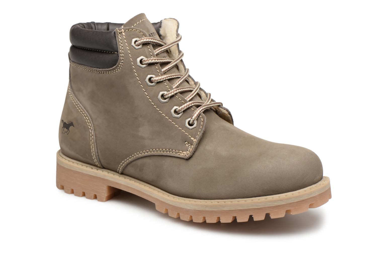 Boots en enkellaarsjes Mustang shoes Groen