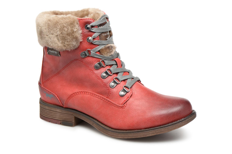 Boots en enkellaarsjes Mustang shoes Rood