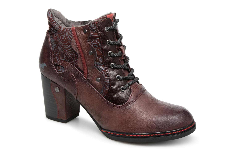 Boots en enkellaarsjes Mustang shoes Bordeaux