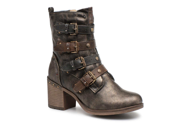 Boots en enkellaarsjes Mustang shoes Goud en brons