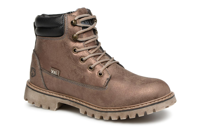 Boots en enkellaarsjes Xti Goud en brons