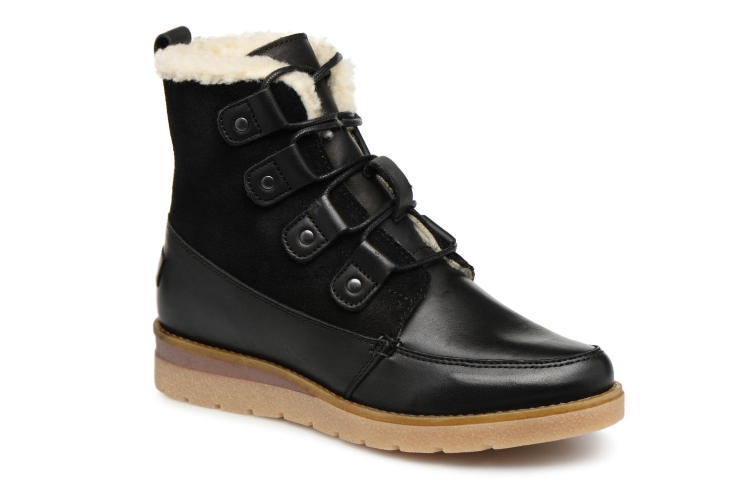VmAne leather boot par Vero Moda