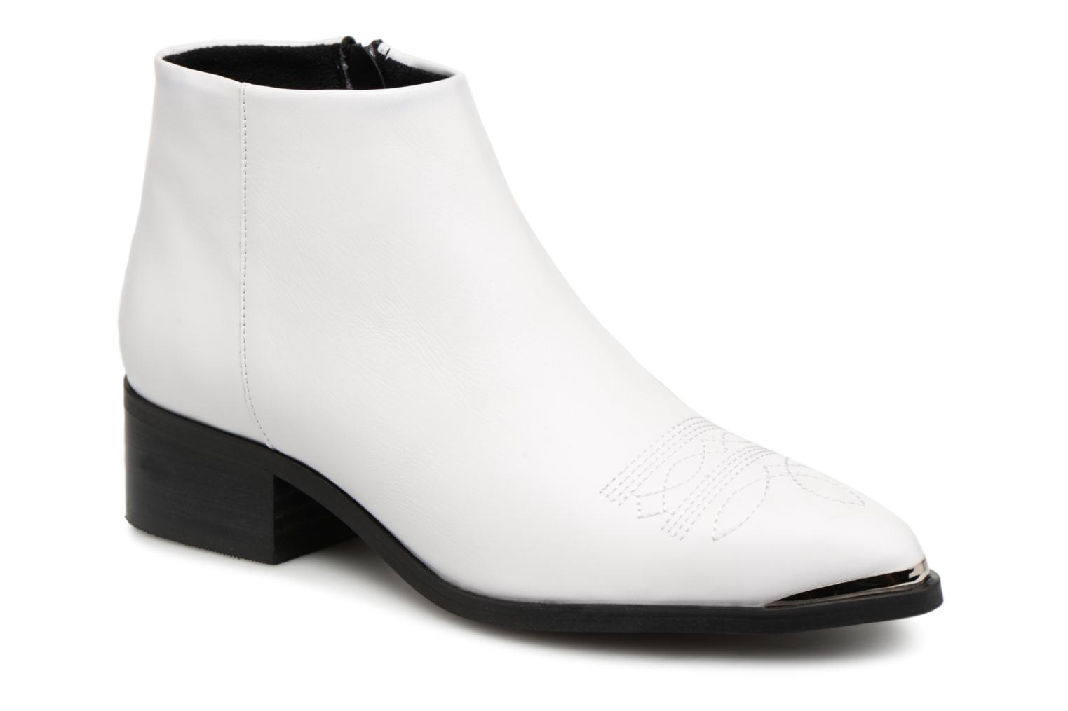 VmBella leather boot par Vero Moda