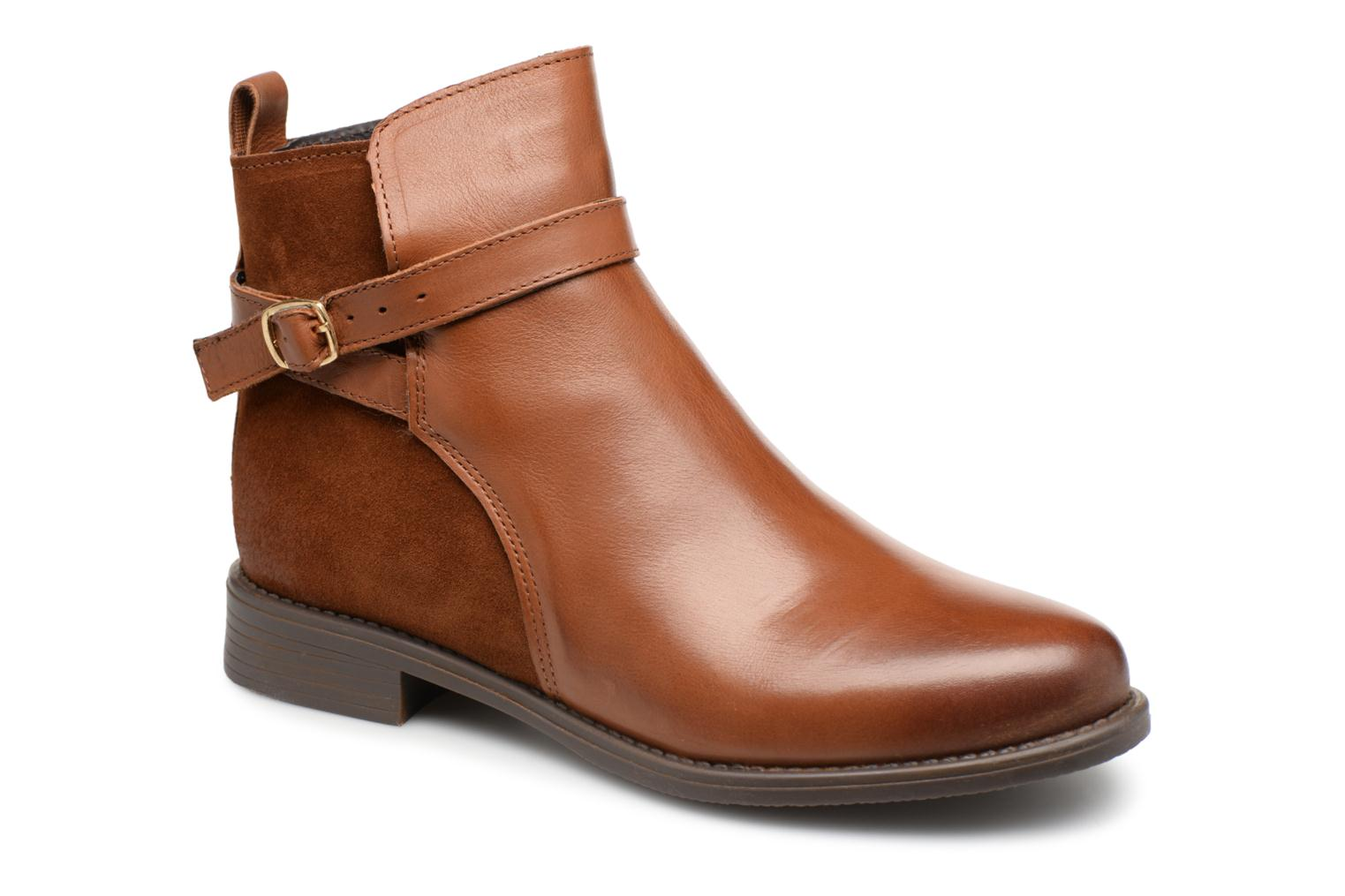 VmJuliette leather boot par Vero Moda