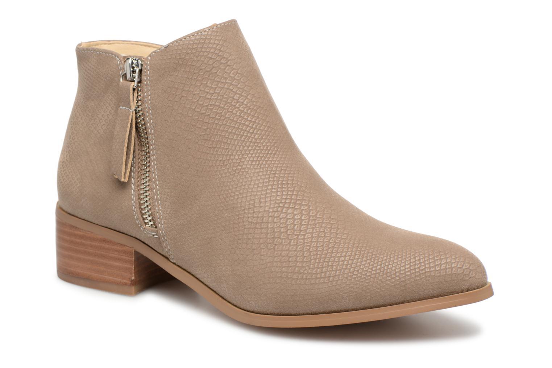 Boots en enkellaarsjes Vero Moda Beige