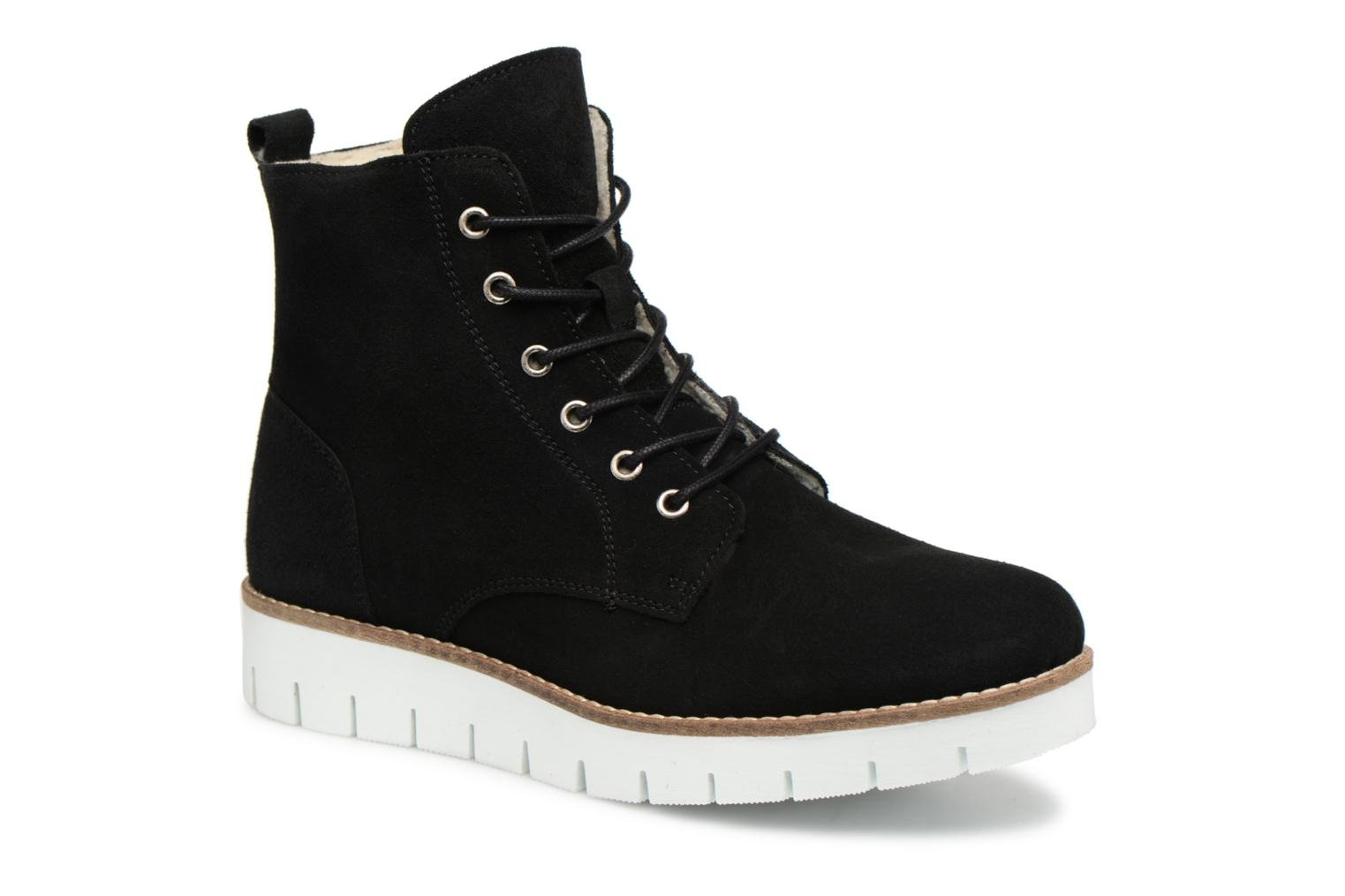 VmMella leather boot par Vero Moda
