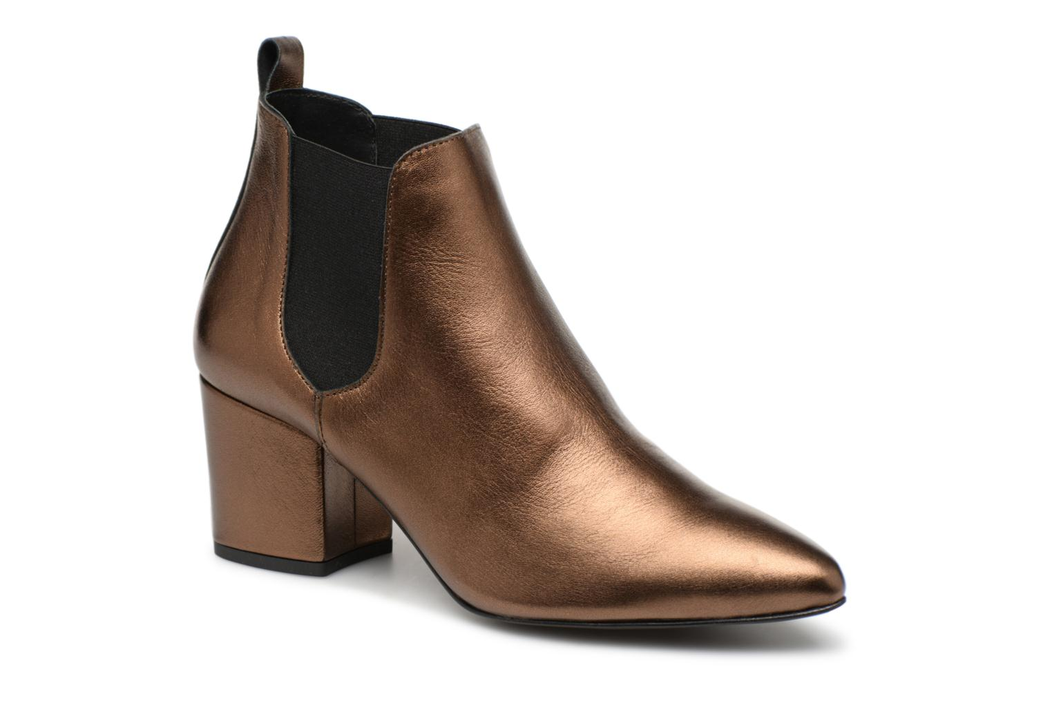 VmNice leather boot par Vero Moda