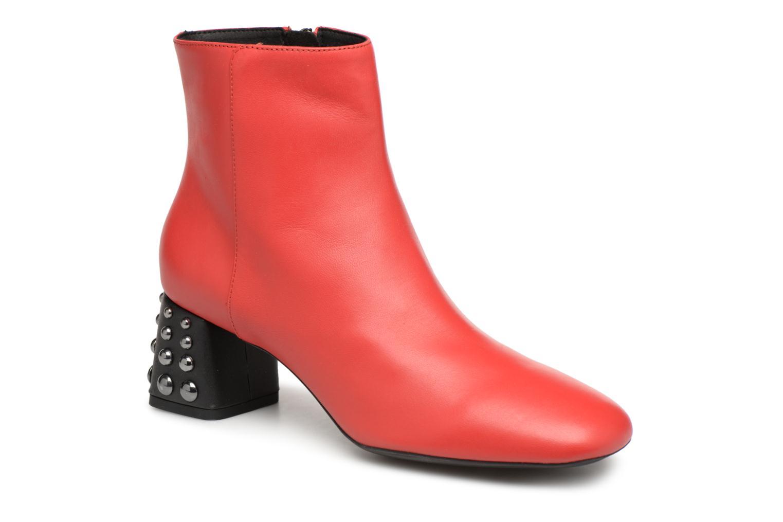 Boots en enkellaarsjes Geox Rood