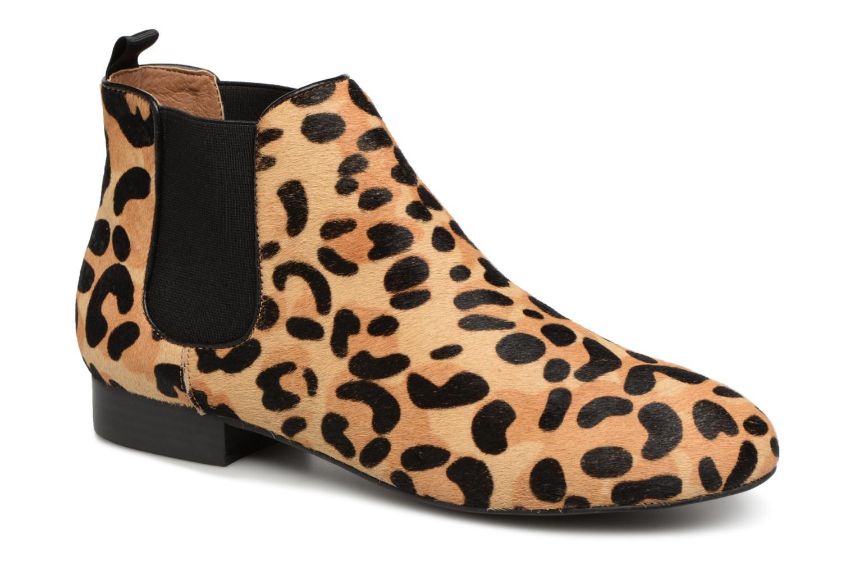 Boots en enkellaarsjes Monoprix Femme Beige