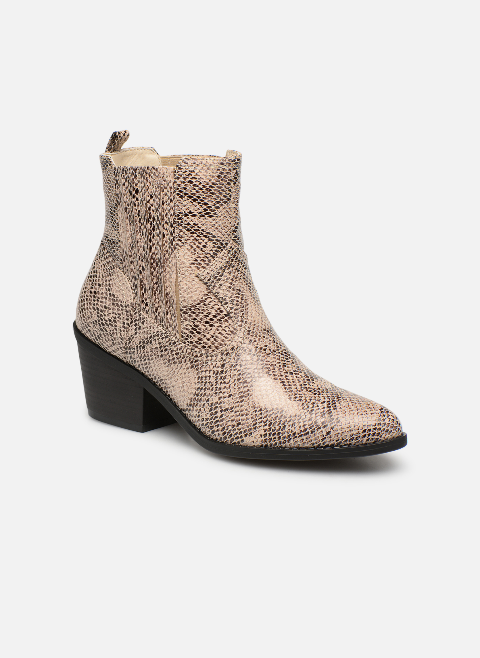 Boots en enkellaarsjes I Love Shoes Beige