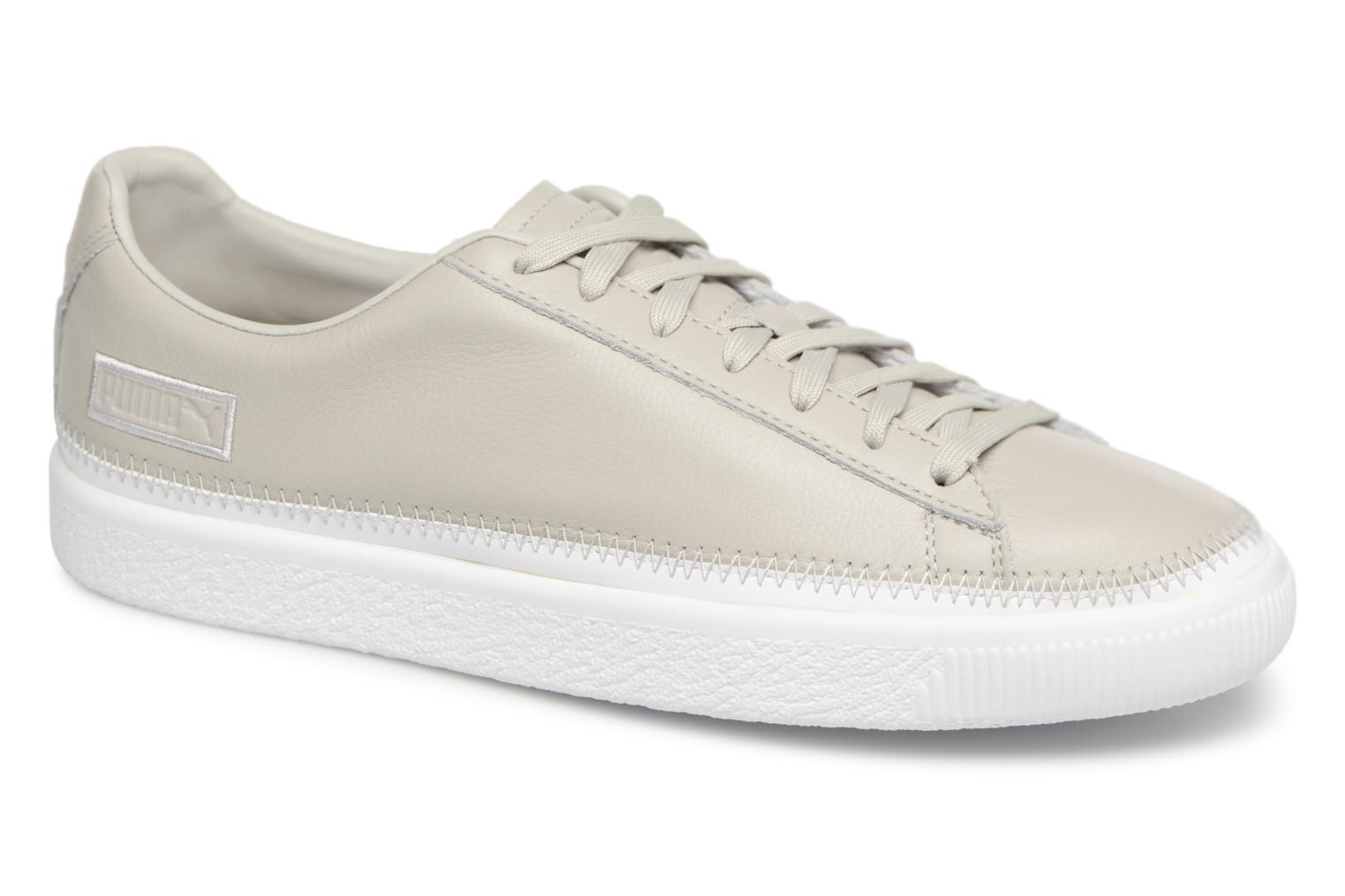 Sneakers Basket Stiched Grey by Puma