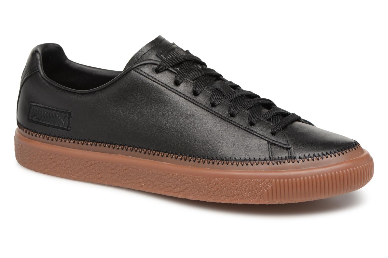 Sneakers Basket Stiched Black by Puma