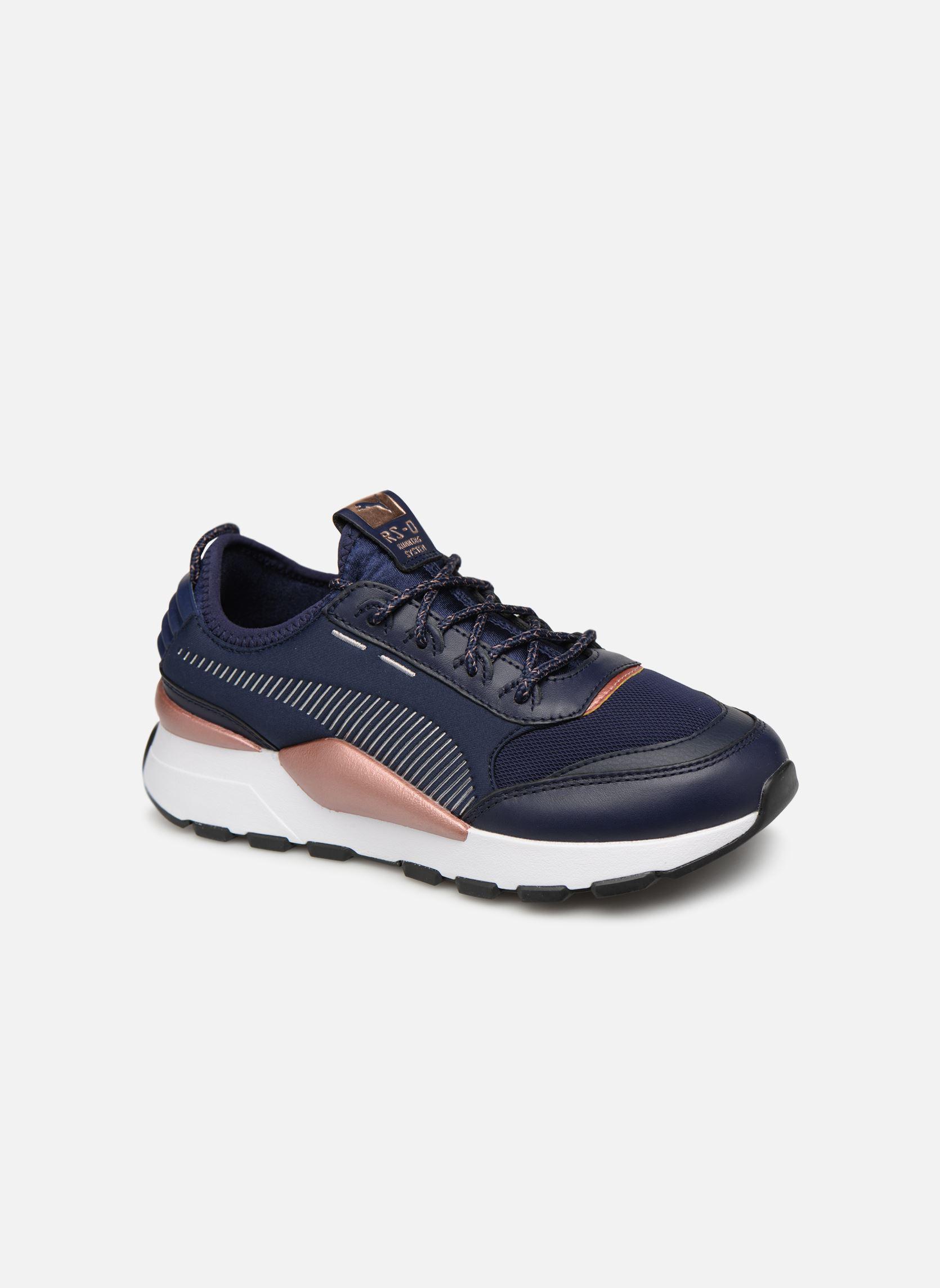 Details zu Damen Puma Rs 0 Trophy Sneaker Blau
