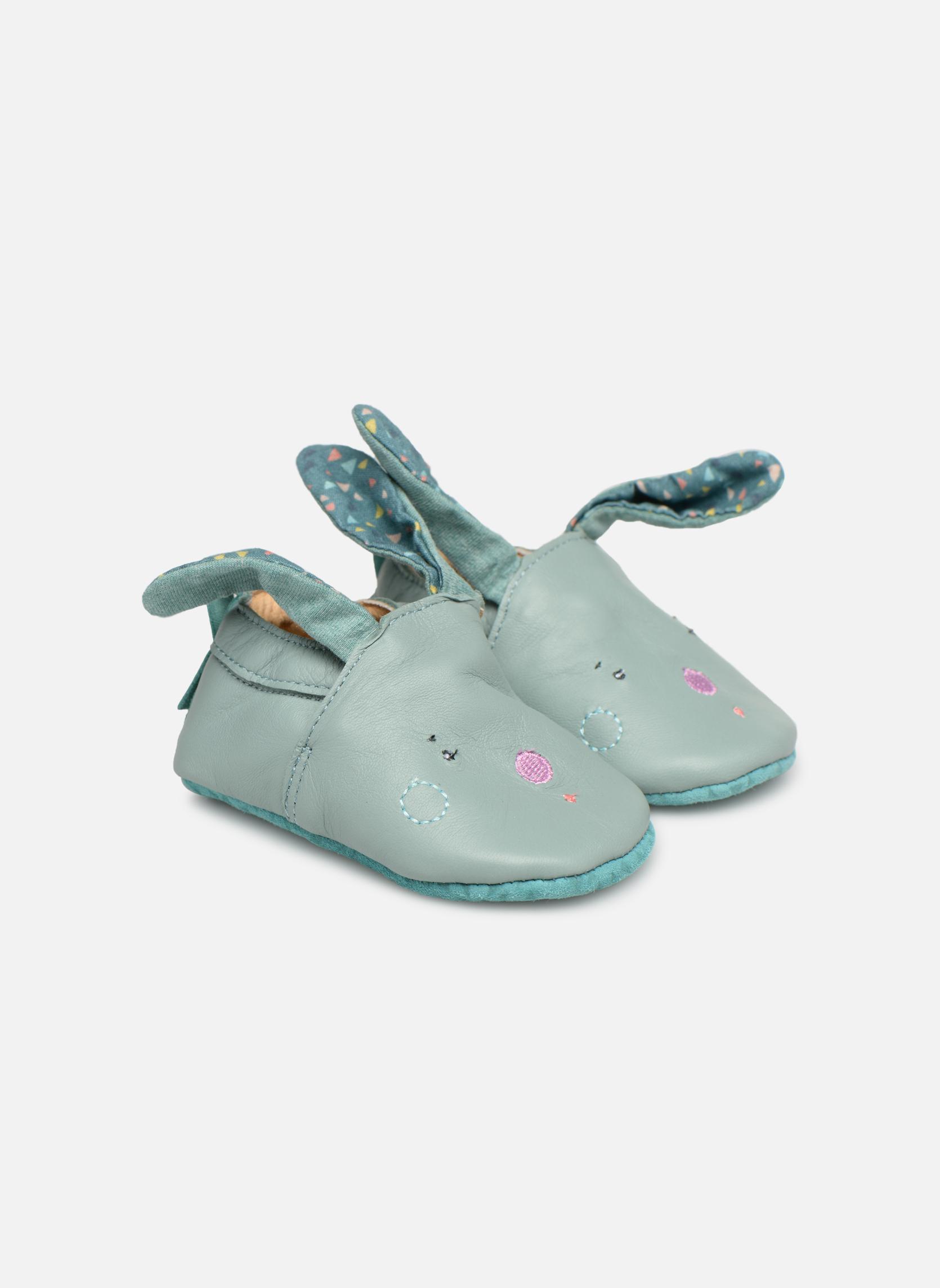Pantoffels Babybotte Blauw