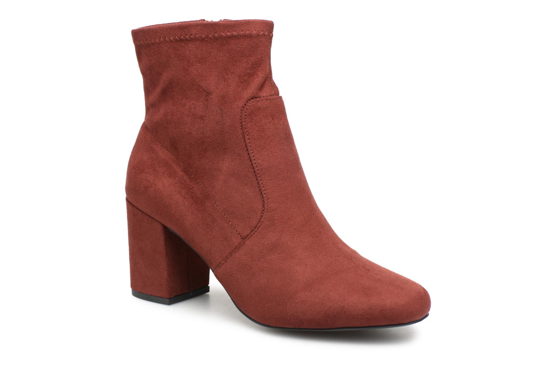 Boots en enkellaarsjes Monoprix Femme Rood