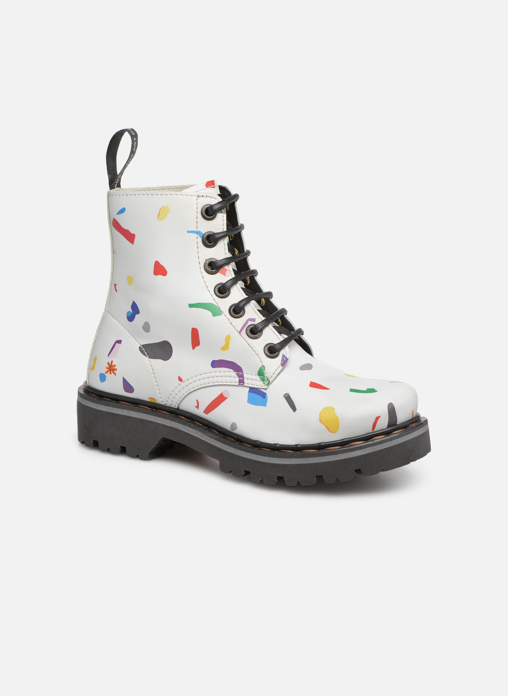 Boots en enkellaarsjes Art Wit