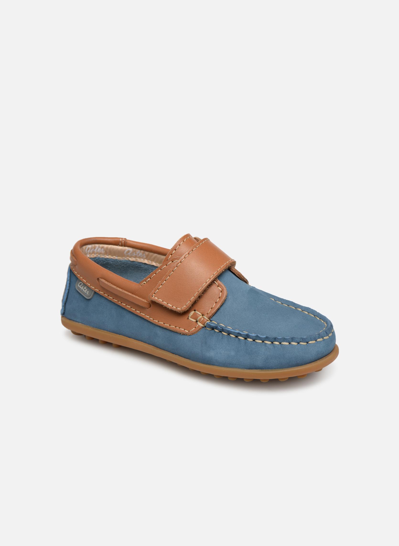 Schoenen met klitteband Aster Blauw