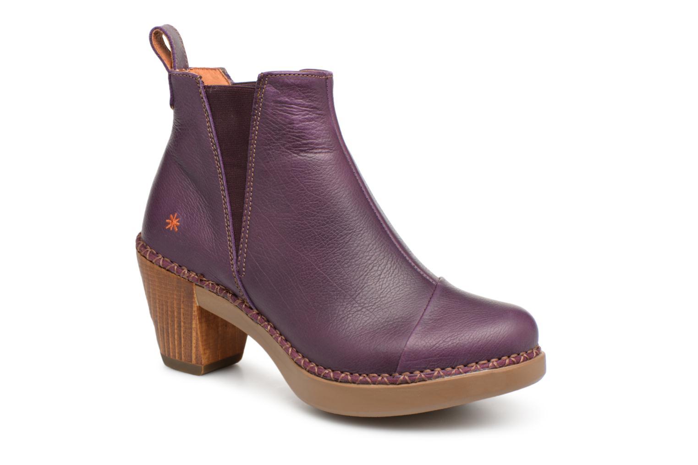Boots en enkellaarsjes Art Paars