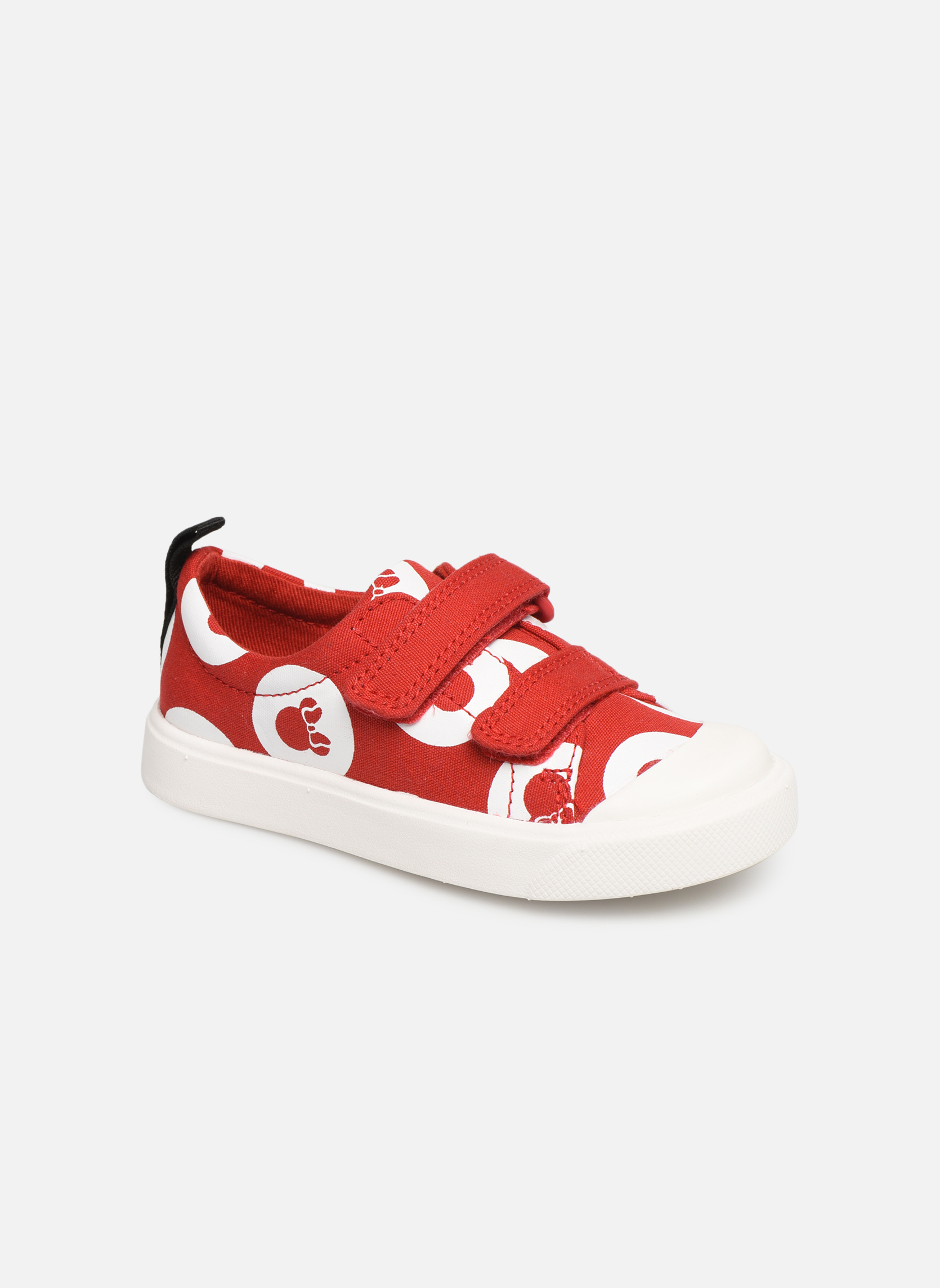 Sneakers Clarks Rood