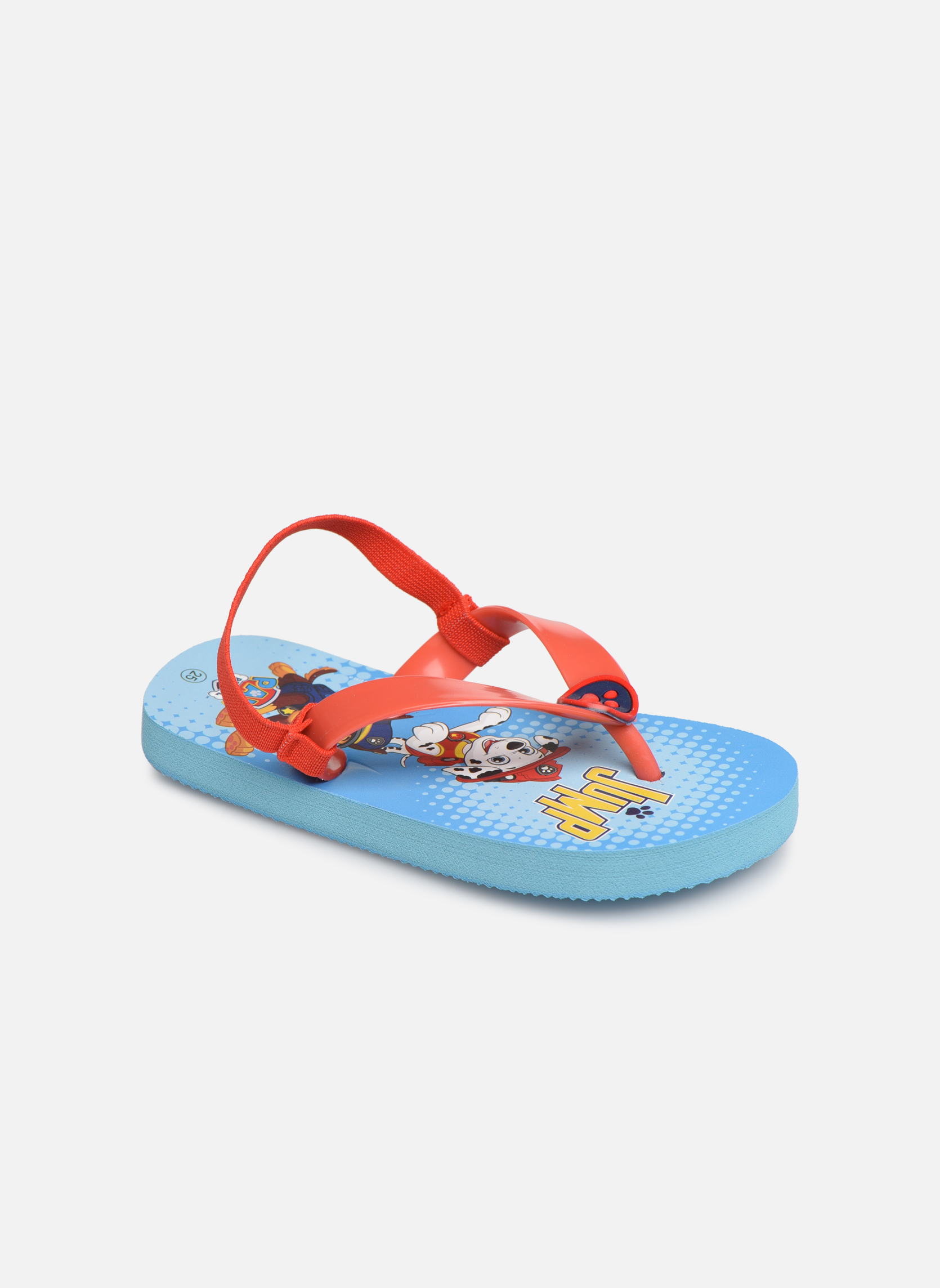 Slippers Pat Patrouille Rood