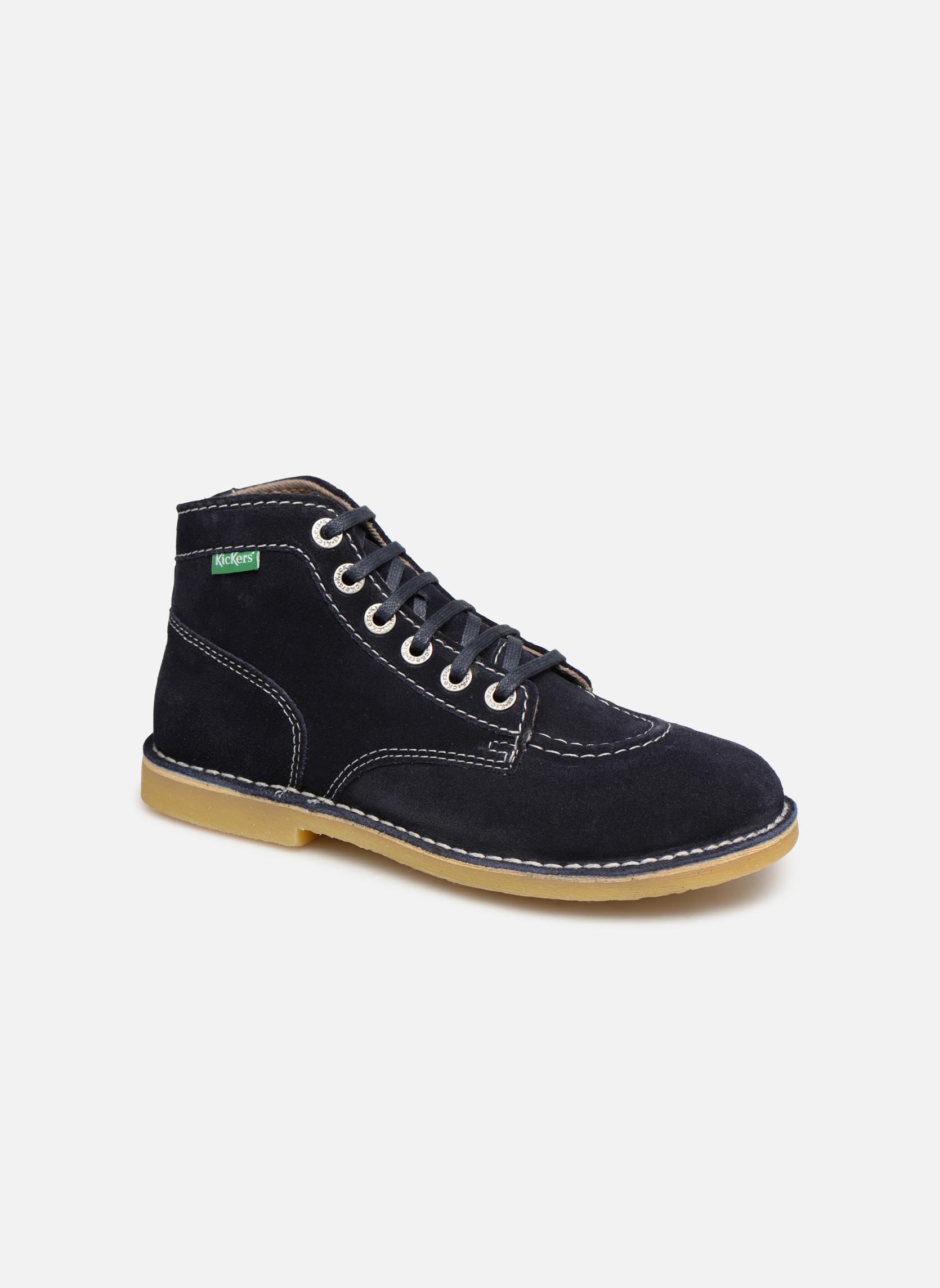 Boots en enkellaarsjes Kickers Blauw