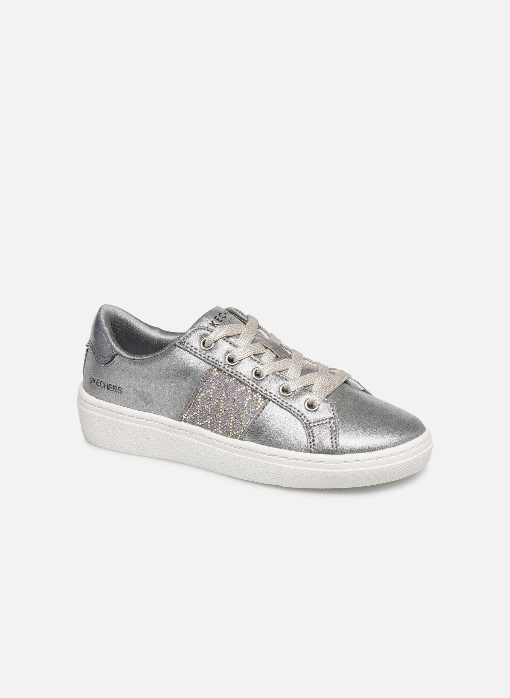Sneakers Skechers Zilver
