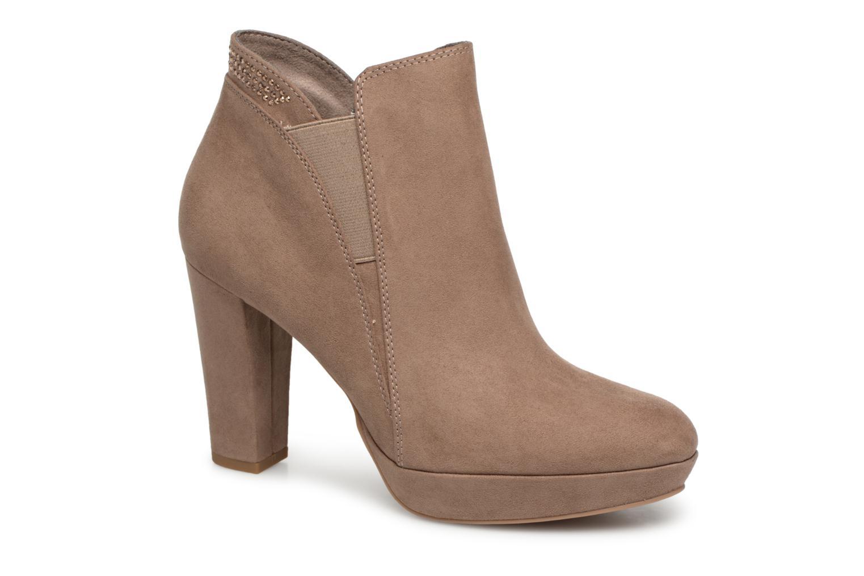 Boots en enkellaarsjes Tamaris Beige