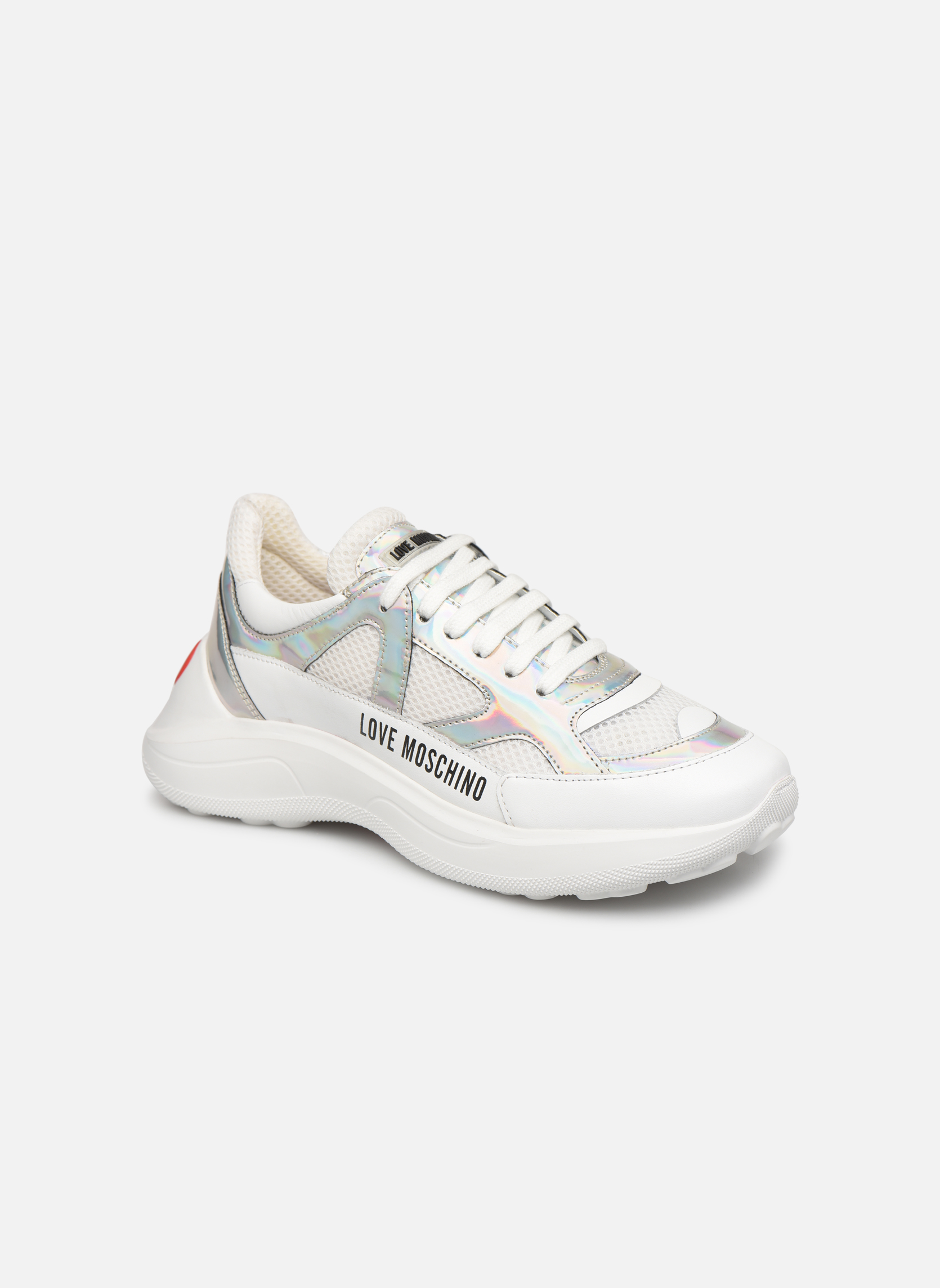 Sneakers Love Moschino Wit