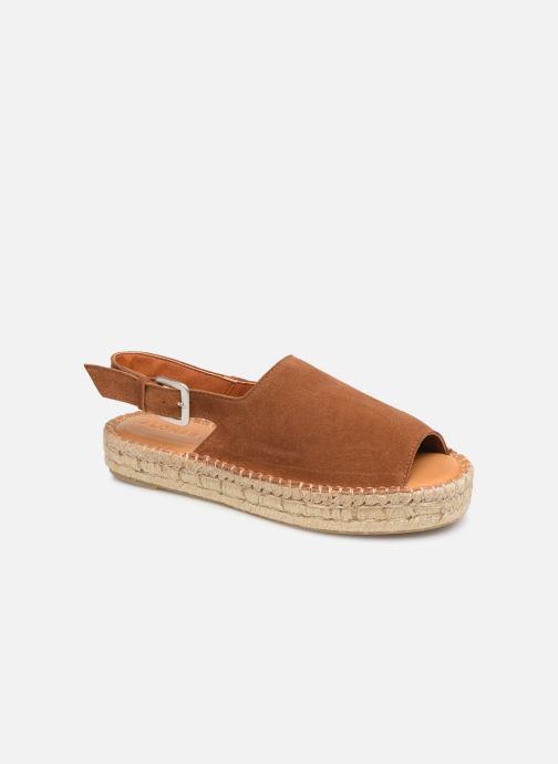 Alohas Sandals - Back strap - Sandalen für Damen / braun