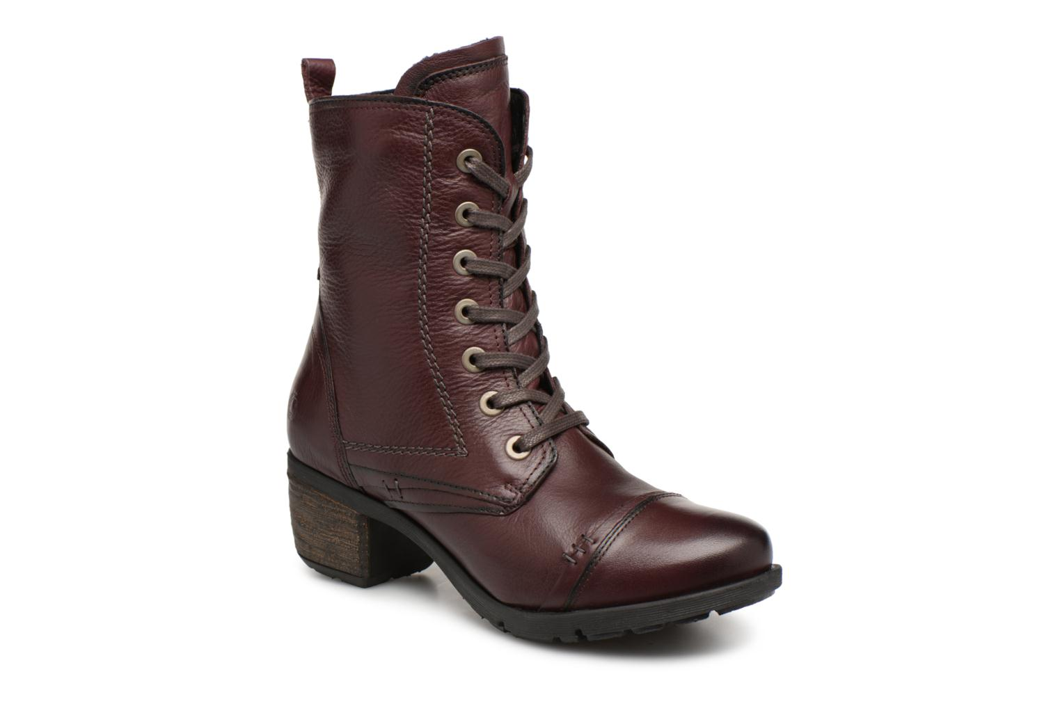 Boots en enkellaarsjes Be Natural Bordeaux