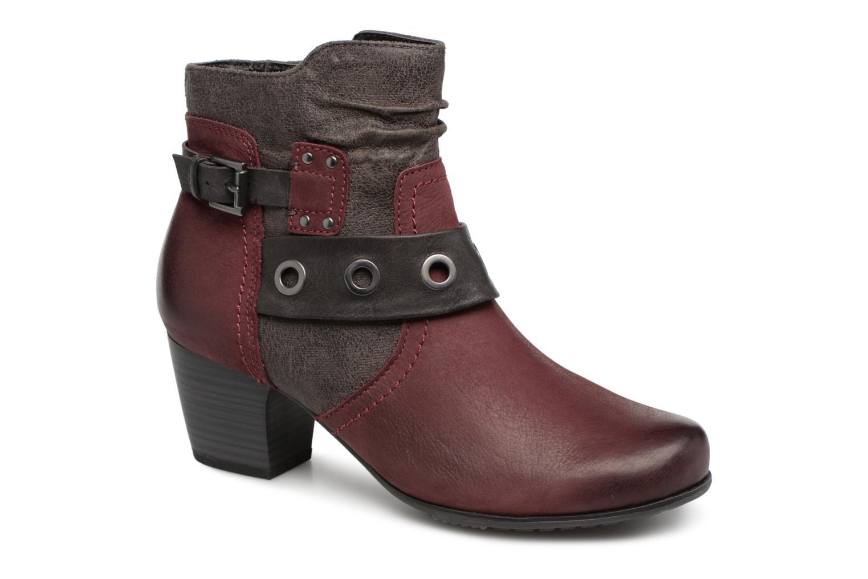 Boots en enkellaarsjes Jana shoes Bordeaux