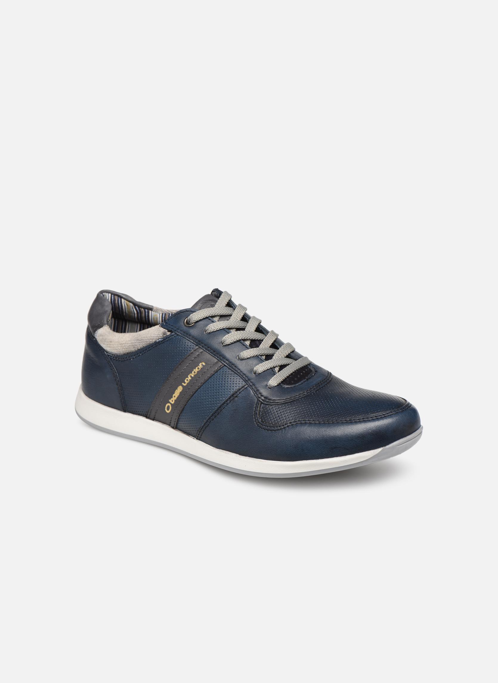 Sneakers Base London Blauw