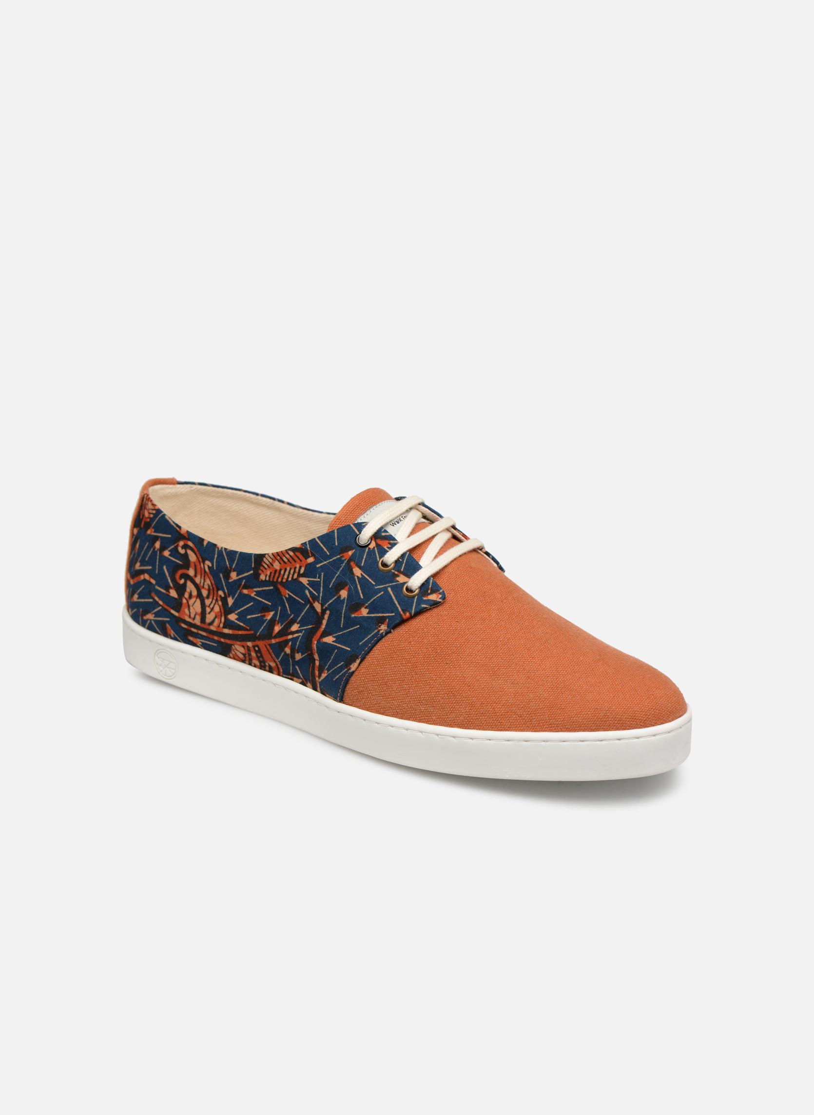 Sneakers Panafrica Oranje