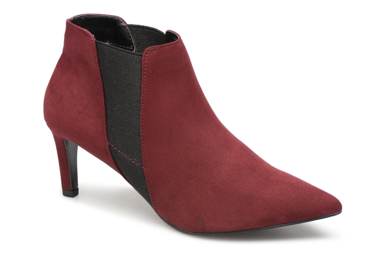 Boots en enkellaarsjes Monoprix Femme Bordeaux