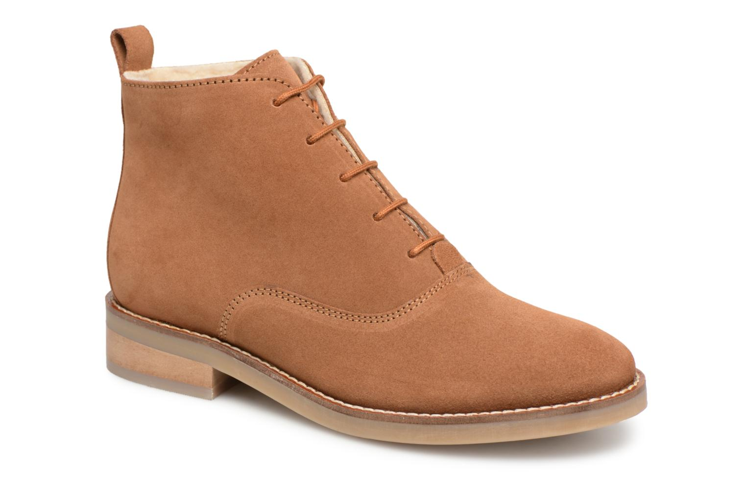 5c43a5407d7e6 BOOTS LACETS FOUREE - Chaussures